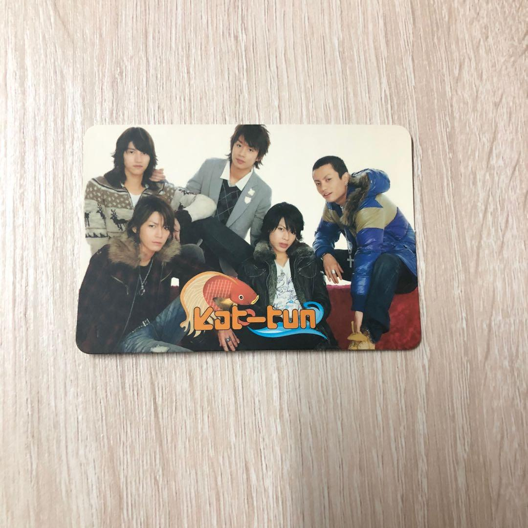 Kat-Tun 經典 yes card yes卡 yes咭 yescard 龜梨和也 赤西仁