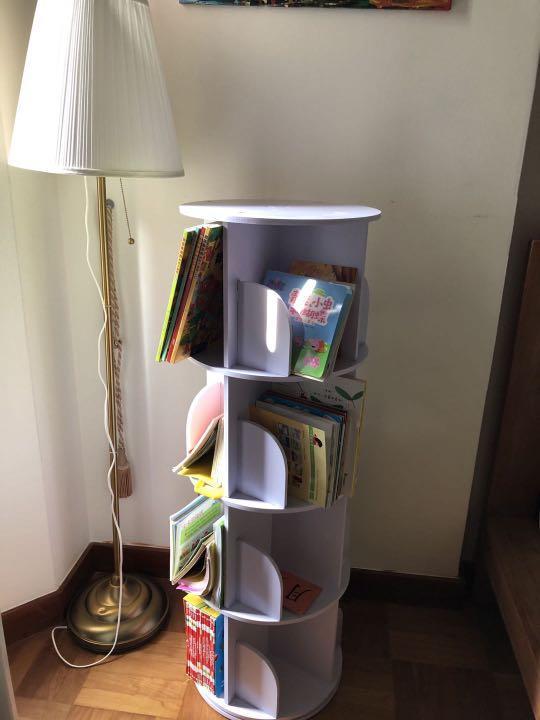Kids Book Shelf And Ikea Lamp, Lamp With Shelf Ikea