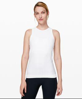 Lululemon Top - For The Chill Of It Tank - White