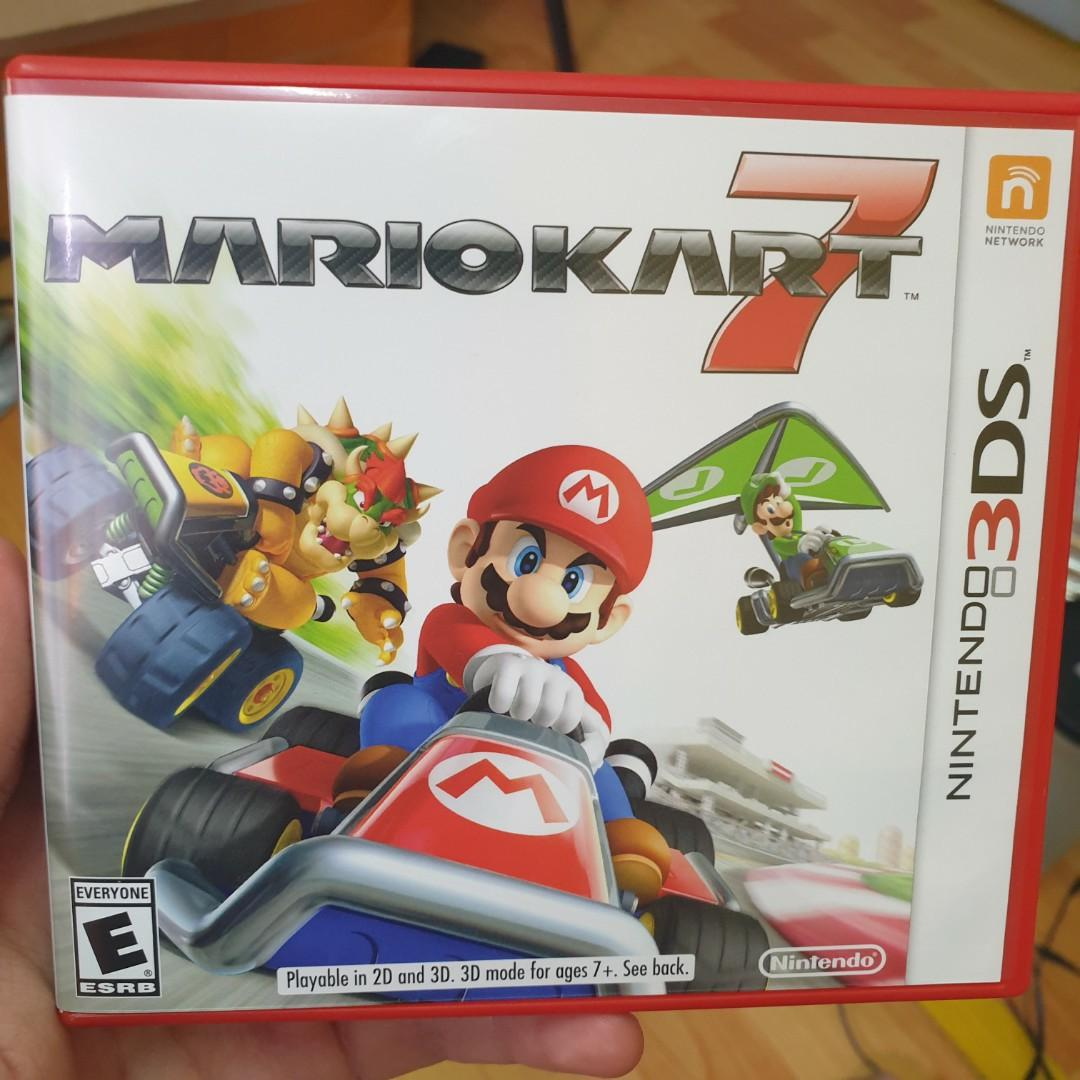 Mario Kart 7 For Nintendo 3ds Video Gaming Video Games On Carousell