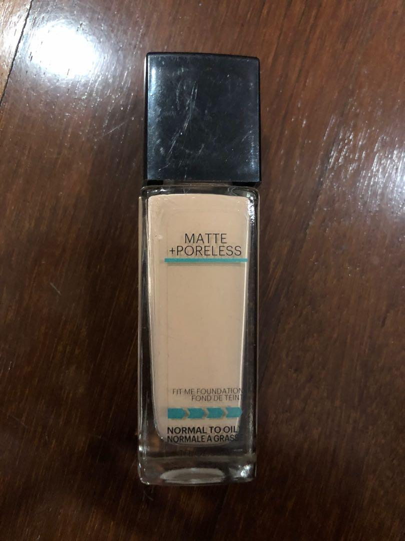 Maybelline Fit Me Foundation 115 Ivory Health Beauty Makeup On Carousell