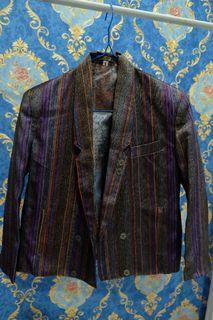 Metallic Colored Blazer