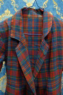 Modern Checkered Casual Blazer