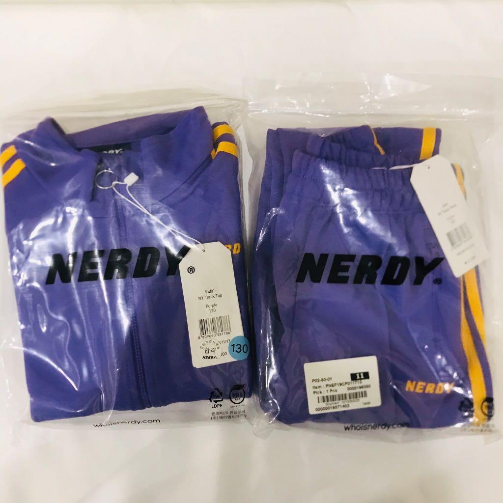 紫色NERDY套裝(130公分左右可穿)