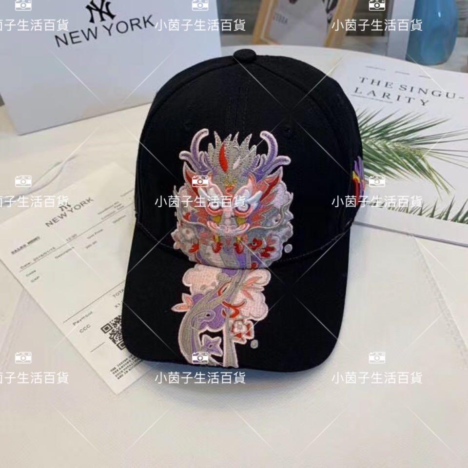 刺繡型格NY 帽-5款式