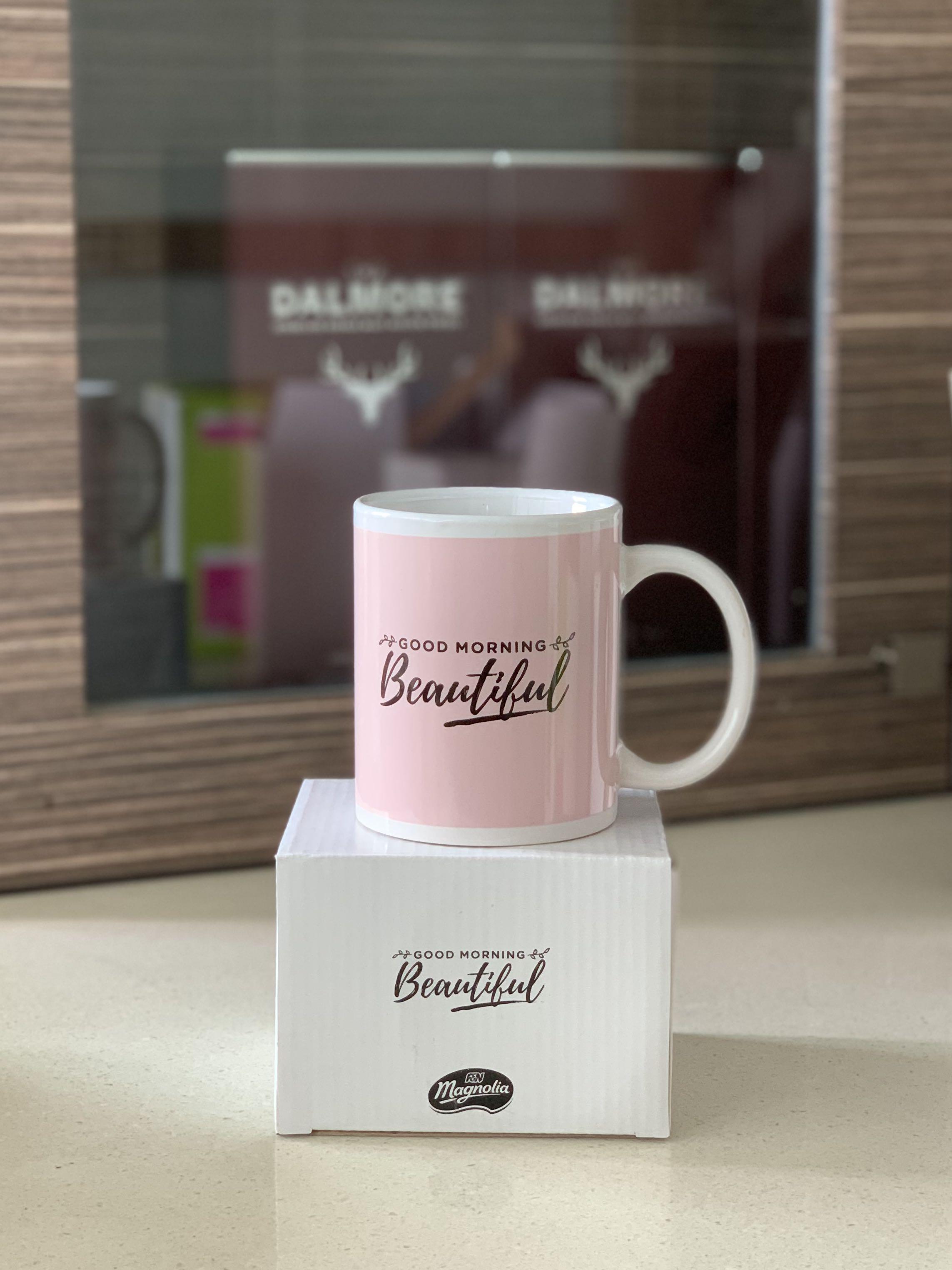 Pink Porcelain Coffee Mug Home Appliances Kitchenware On Carousell
