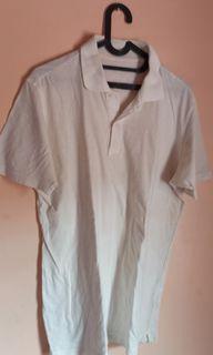 Polo shirt putih polos