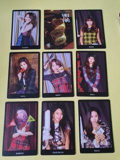 WTS Twice Official PO benefit photocards