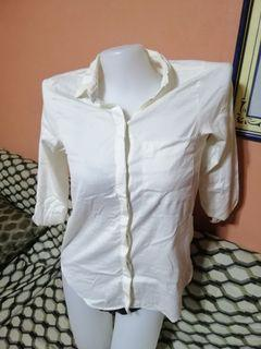 Zara White long sleeves