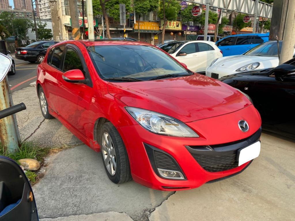 2010年Mazda馬自達 馬3 紅