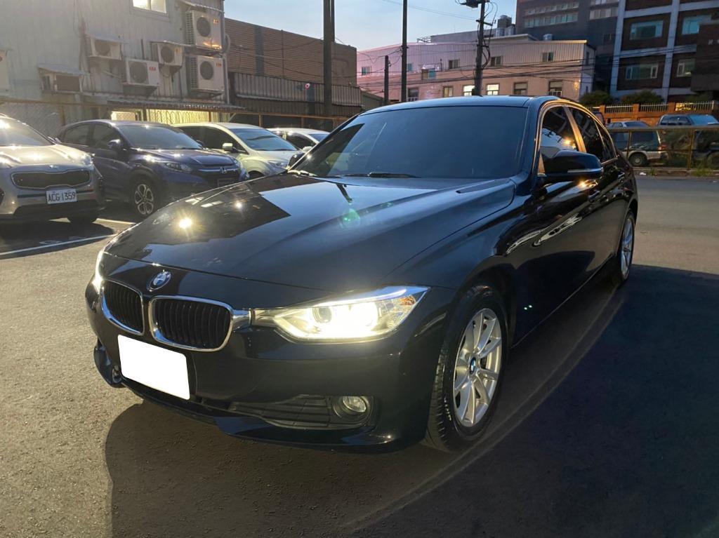 2013年BMW寶馬316i 黑