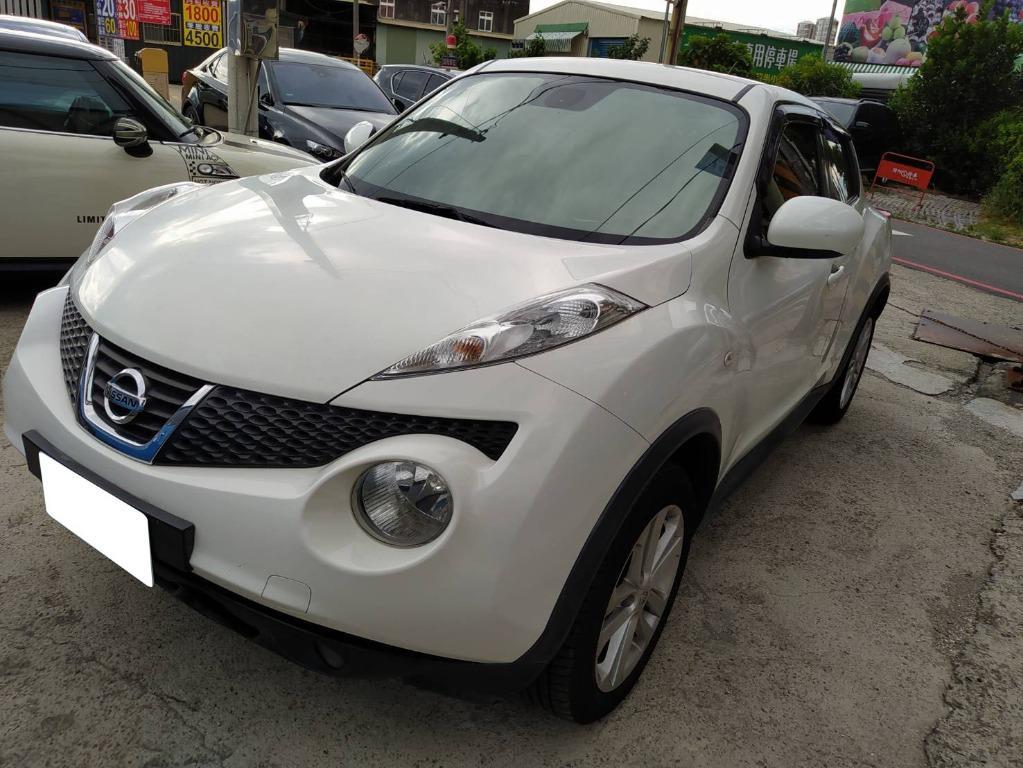 2013年Nissan日產Juke Turbo 白