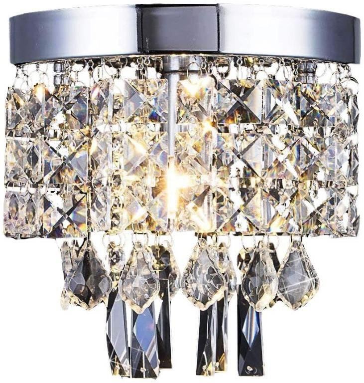 8013 Crystal Flush Ceiling Lighting Afsemos Crystal Ball Chandeliers Ceiling Lamp Shades E14 Flush Ceiling Lights For Bedroom Hallway Dining Room Living Room Wending O20cm 7 9in Energy Class A Electronics Others On Carousell