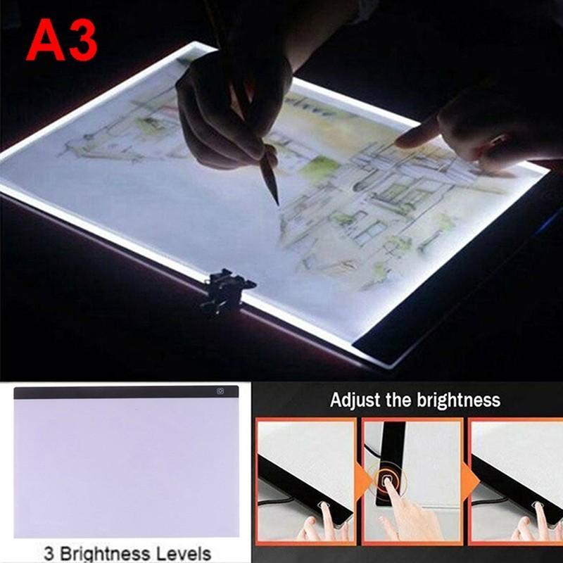 A3LED拷貝台臨摹台動漫透光板書法素描繪畫板拷貝台