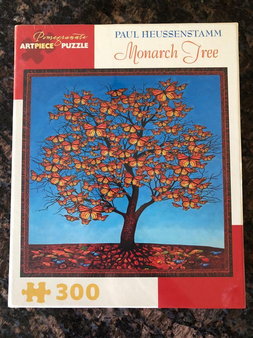 BRAND NEW! 300 Piece ArtPiece Puzzle: Monarch Tree