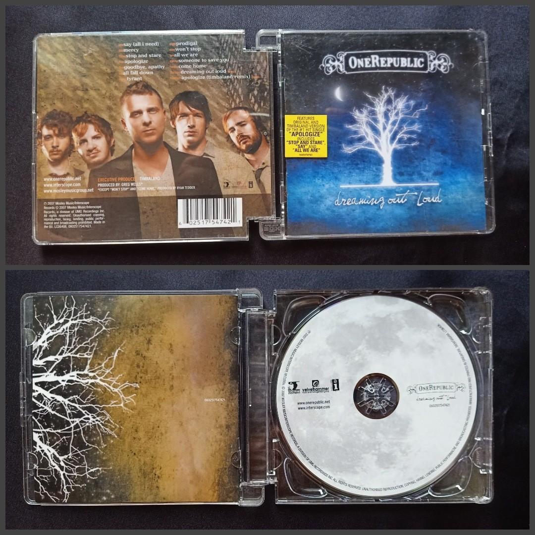 CD Lagu ONEREPUBLIC Musik Barat Impor Ori Kualitas Recording Lebih Jernih Bagus dibanding  Lokal
