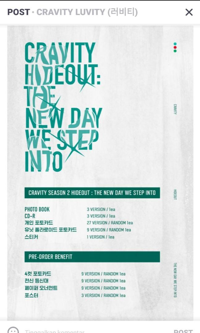 Cravity Hideout : The New Day We Stel Into