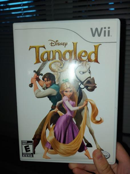 Disney Tangled for Wii