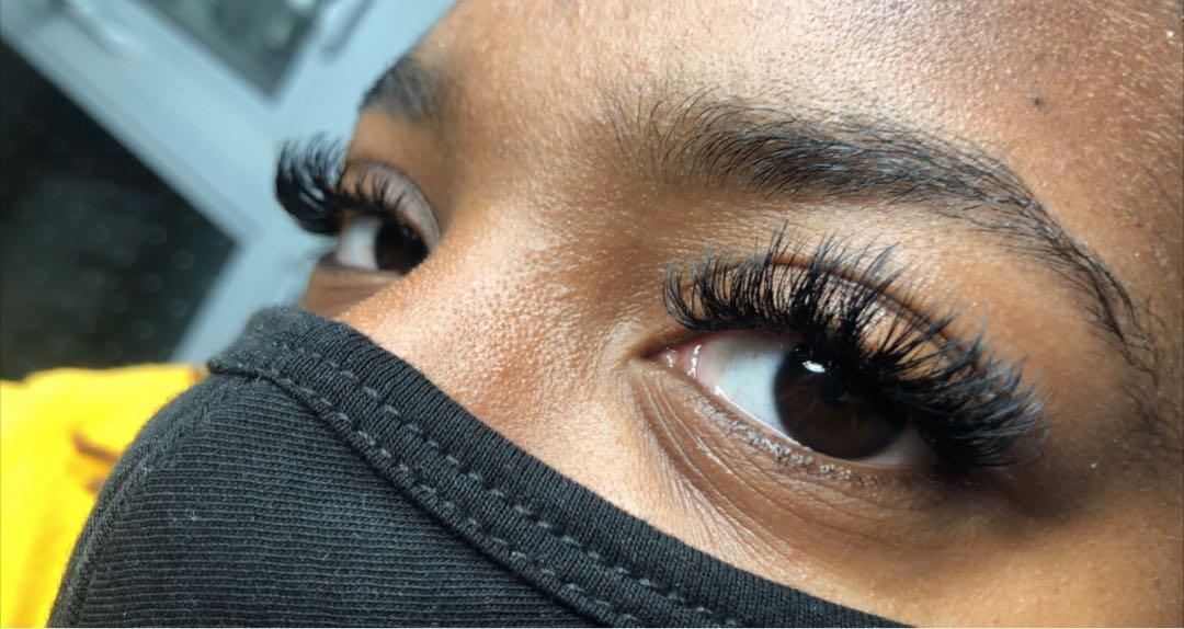 Hybrid Eyelash Extension