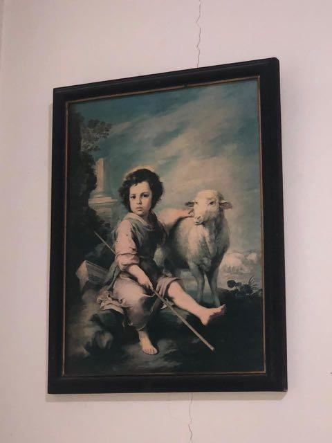 """Lukisan Antik - """" Sheep Man """""""