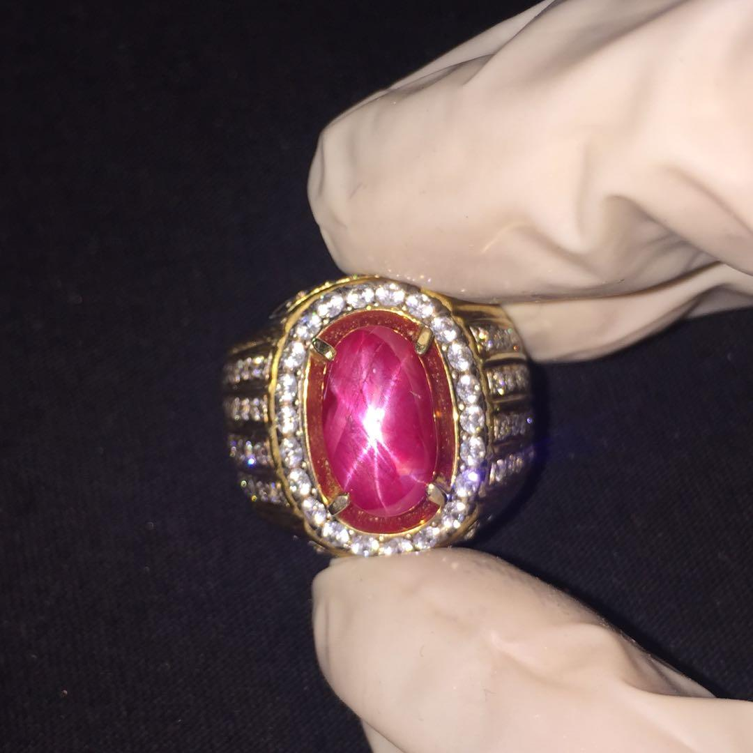Natural Star Red Ruby Burma