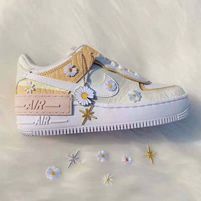 Prosperare vendita allasta massimo  Nike Air Force 1 Shadow Pastel Multi Inspired, Women's Fashion, Shoes on  Carousell