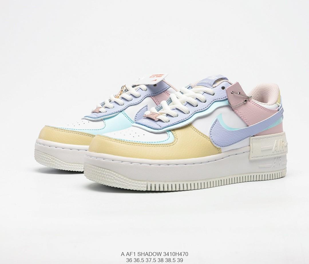 Nike Air Force 1 Shadow Pastel Colorway Women S Fashion Shoes Sneakers On Carousell Latest information about air force ones. nike air force 1 shadow pastel