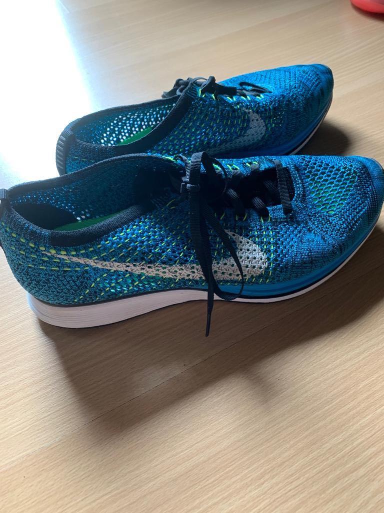 Nike Flyknit Racer Blue Cactus, Men's