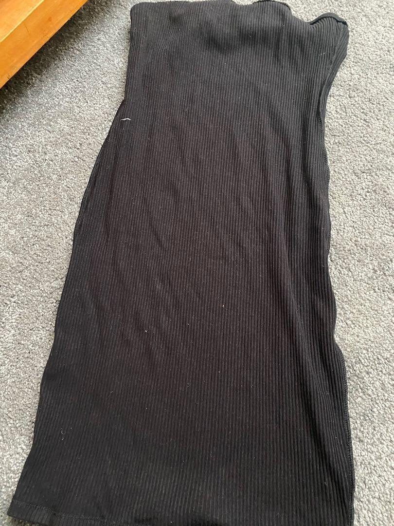 Strapless dress H&M