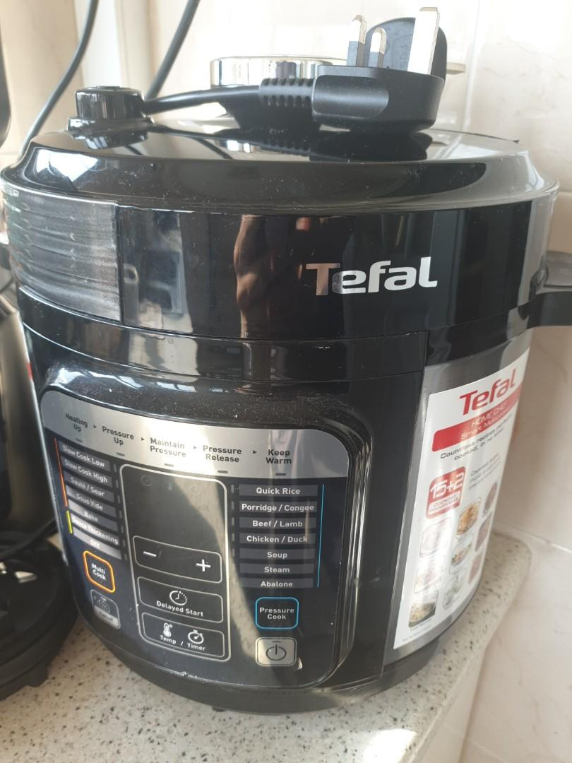 Tefal Home Chef Smart Multicooker Home Appliances Kitchenware On Carousell