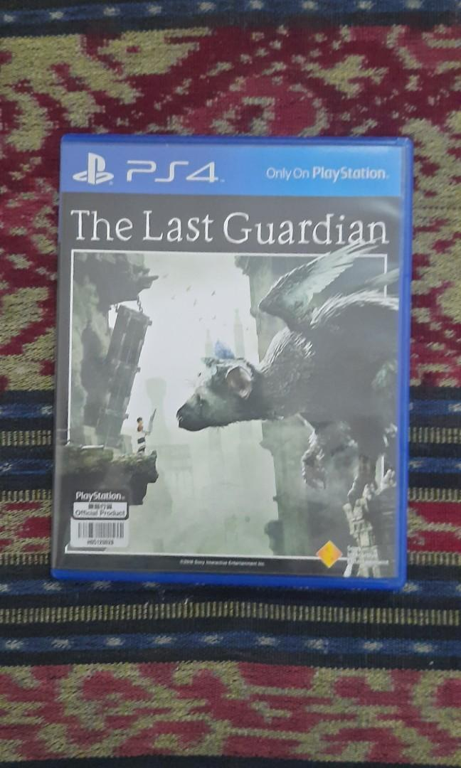 The last guardian ps4 ps 4