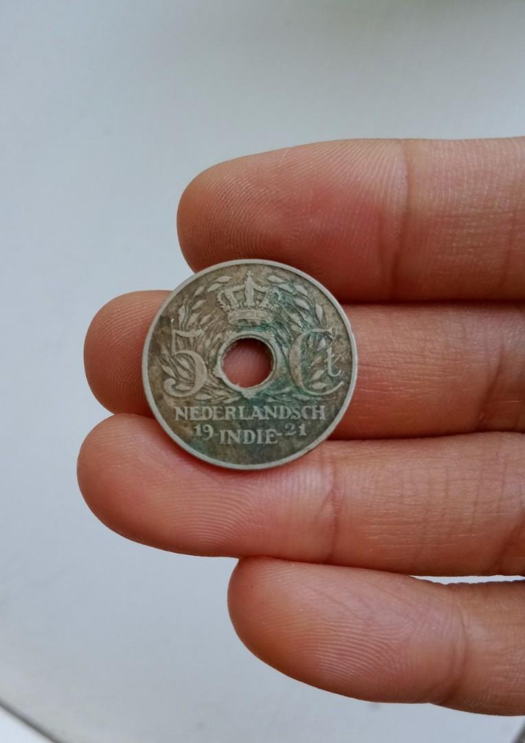 Uang Koin Kuno 1921