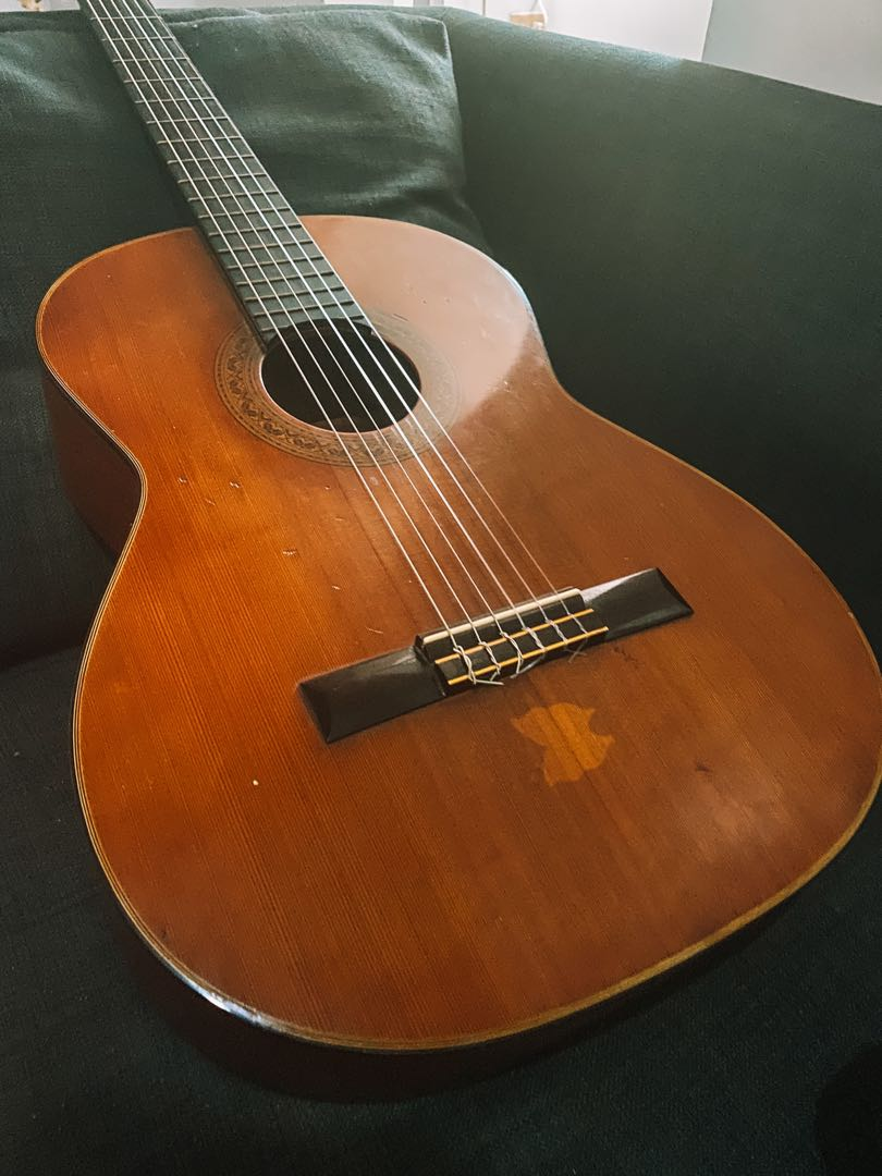 Vintage Ariana Classical Guitar by Aria