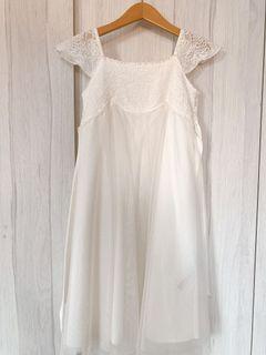 100% Authentic Monsoon - White Dress