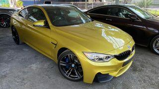 2015 BMW M4 Coupe 3.0 Twin Turbo (A) - unregistered UK spec recond FAST LOAN APPROVAL LOWN INTEREST RATE