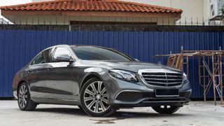 2016 Mercedes-Benz E250 Exclusive Line 2.0 turbo (A) - good condition low mileage