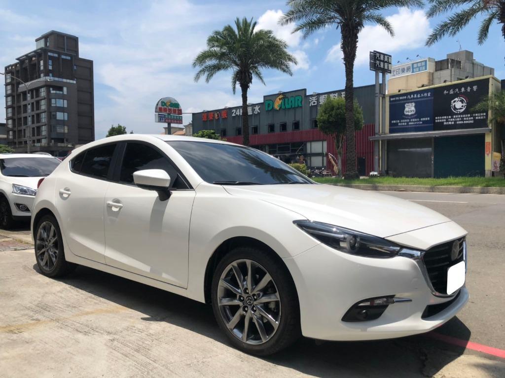 2018年 Mazda 魂動馬3 旗艦 白色