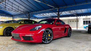 2018 Porsche 718 Cayman S 2.5 Turbo full spec (A) - unregistered SUPER LOW MILEAGE FULL SPEC recond FAST LOAN APPROVAL LOW INTEREST RATE