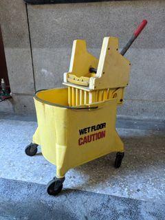 美式拖把脫水桶 Heavy Duty Mop Bucket/Cart