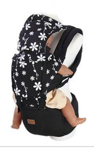 Baby ace hipseat carrier - black