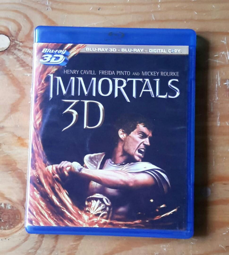 Bluray Combo The Immortal.