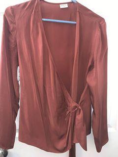 BNWT Aritzia Babaton Wren blouse