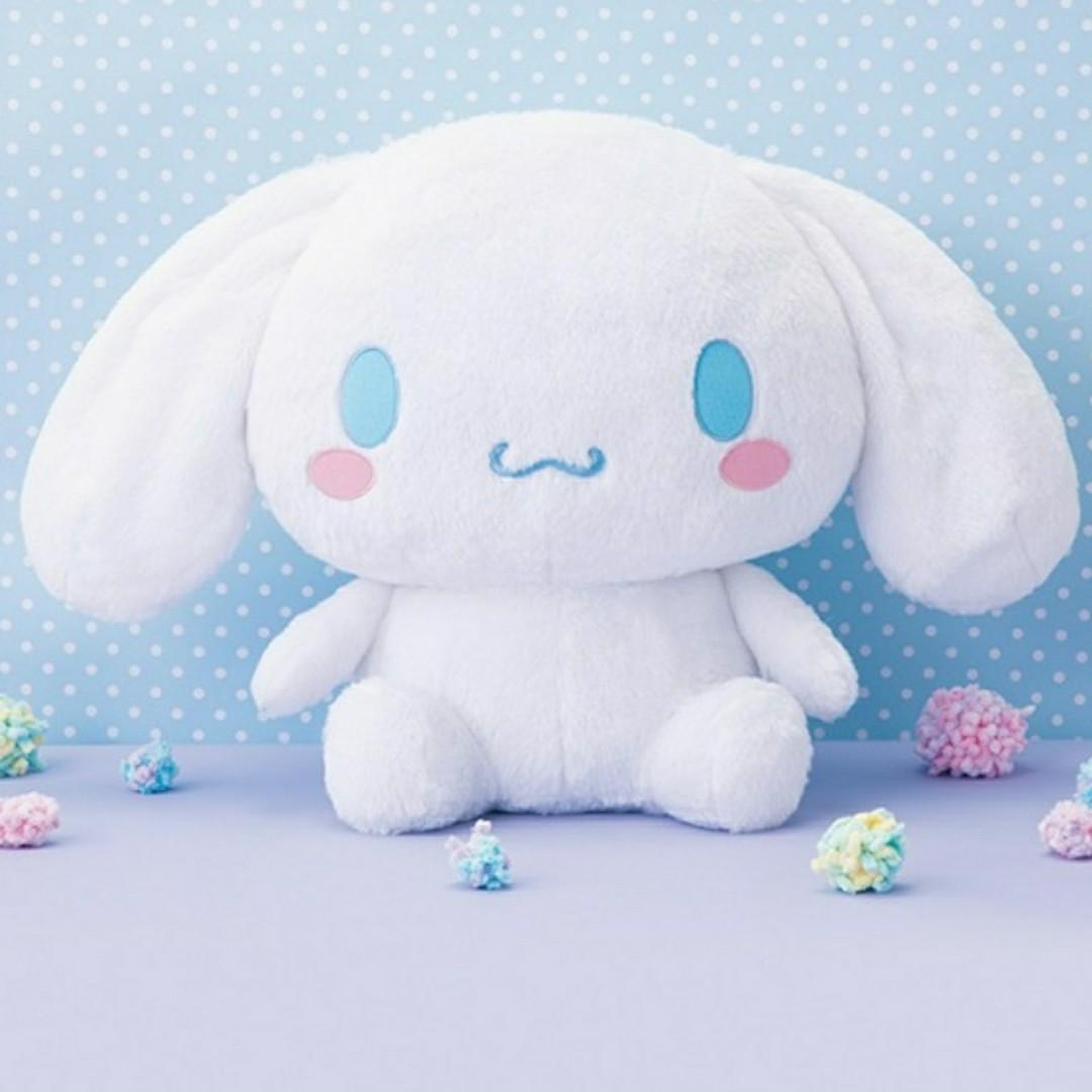Large jumbo Cinnamoroll Japanese plushy stuffed toy