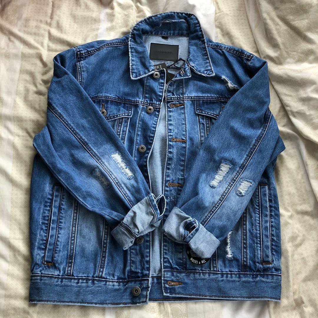 Denim jacket -NEW
