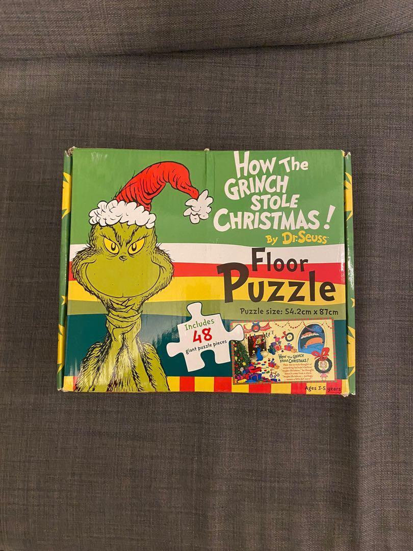 Grinch by Dr. Seuss Puzzle