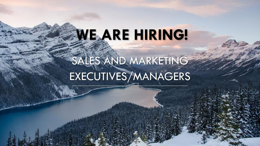 Highest Paying Sales and Marketing Career opportunity