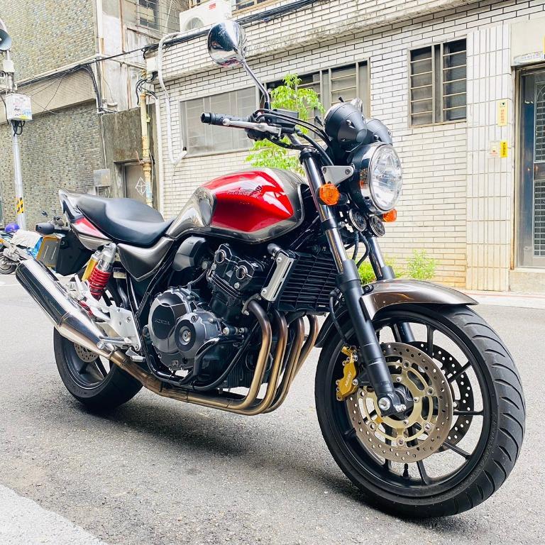 Honda 本田 CB400 黃牌 圓燈 復古 中量級 經典 復刻 四缸 聲浪 綿密動力 黃蜂 Nissin Showa Z300 Z400 CB300 MT03 CB600 可車換車 分期業界最優