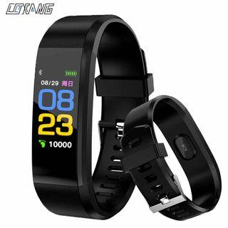 Jam fitness tracker Id115 watch smart watch ready stock 🇲🇾 all new