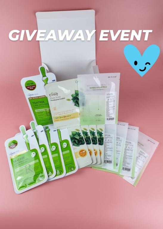 [K-more] Sheetmask Giveaway Event!