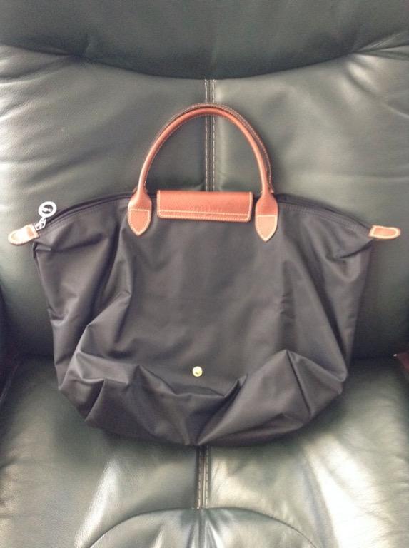 Longchamps Le Pliage Tote Bag Black - Like New